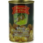 olive Maestro de oliva green with bone 300g can