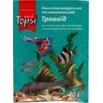 Корм сухий натуральний Topsi для акваріумних риб Травоїд 20г