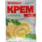 Cream Ukrasa for baking 70g
