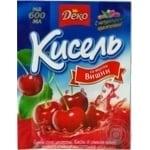 Кисель Деко со вкусом вишни 65г