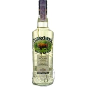 Настойка Zubrowka Bison Grass Vodka 37,5% 0,5л