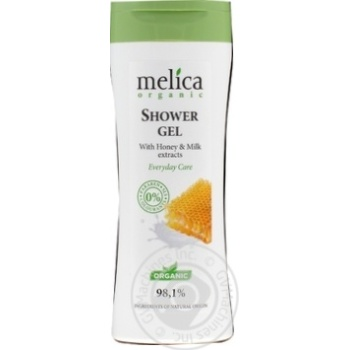Gel Melica organic milk for shower 250ml