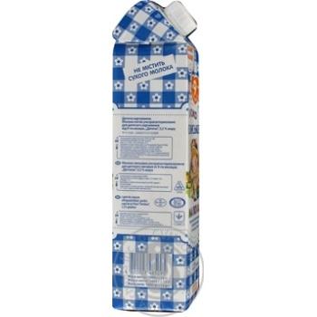 Молоко Селянське Малюкам ультрапастеризоване 3.2% 1000г - купити, ціни на Novus - фото 3