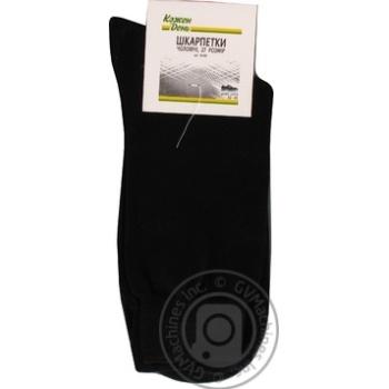 Шкарпетки Кожен День чоловічі чорні 27р - купити, ціни на Ашан - фото 3