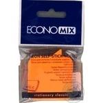Блок для нотаток з клейким шаром Діалог 45х50 мм Economix, 80 аркушів, неон міксE20952