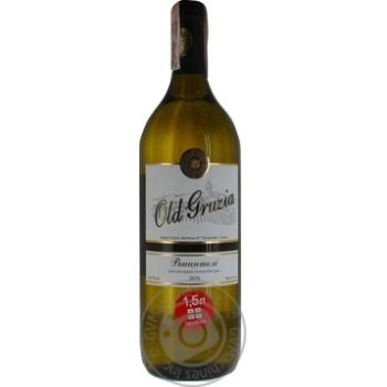 Вино Old Gruzia Ркацители белое сухое 1,5л