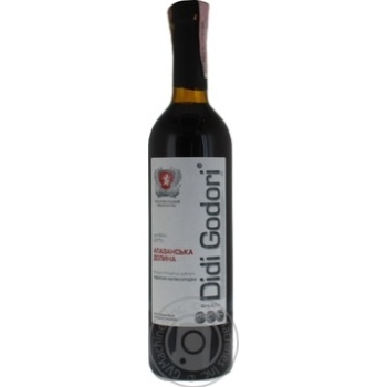 Вино Didi Godori Алазанская долина красное полусладкое 12% 0,75л