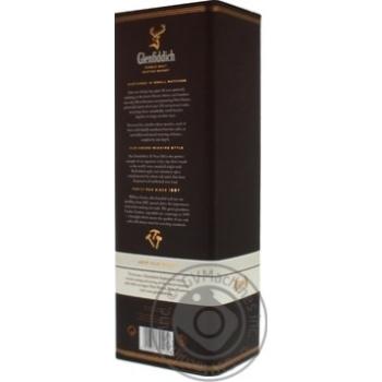 Виски Glenfiddich 18 лет тубус 0,7л - купить, цены на Ашан - фото 4