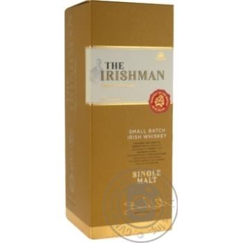 Віскі Irishman SingMoll 0,7л