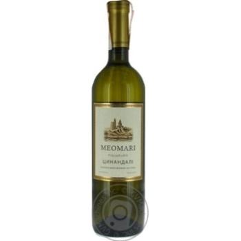 Вино Meomari Цинандали белое сухое 0,75л