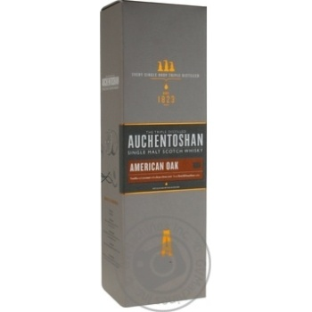 Виски Auchentoshan American Oak 8 лет 40% 0,7л