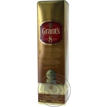 Виски Grant's 8 лет 40% 0,7л - купить, цены на Novus - фото 4