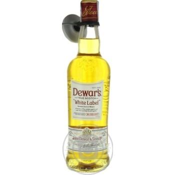 Віскі Dewar's White Label 40% 0,5л - купити, ціни на Novus - фото 1