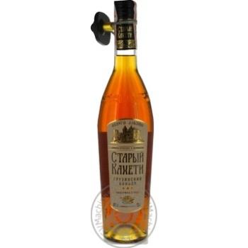 Staryi Kakheti 3 stars Cognac 40% 0,5l - buy, prices for Novus - image 3