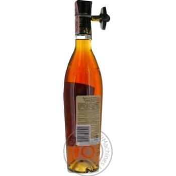 Staryi Kakheti 3 stars Cognac 40% 0,5l - buy, prices for Novus - image 5