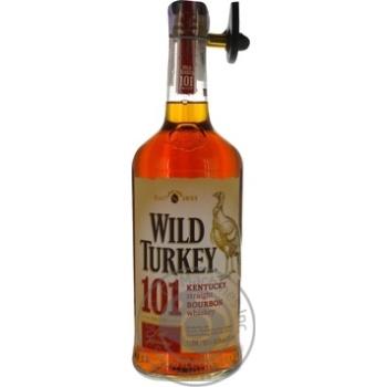 Виски Wild Turkey Бурбон 101 Proof 50,5% 1л