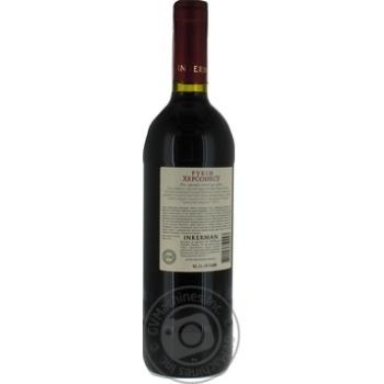 Вино Inkerman Рубин Херсонеса красное сухое 12% 0,75л - купить, цены на МегаМаркет - фото 5