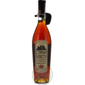 Staryi Kakheti 7 stars Cognac 40% 0,5l - buy, prices for Novus - image 3