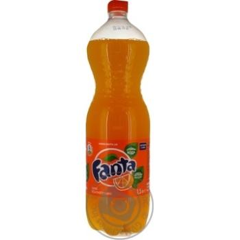 Fanta with orange juice beverage 1500ml