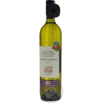 Вино белое Western Cellars Colombard-Chardonnay сухое 11.5% 0.75л