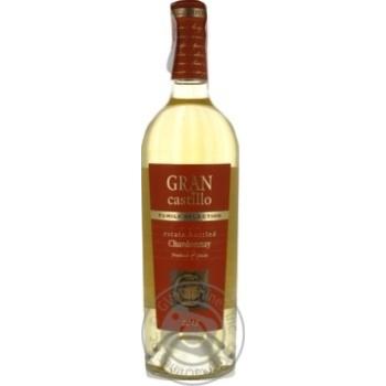 Вино Gran Castillo Selection Chardonnay 12% 0,75л
