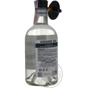 Джин Genuine 0,7л - купить, цены на Novus - фото 2