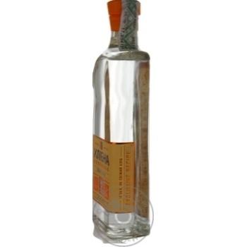 Vodka Khlibna polovynka 37.5% 450ml glass bottle - buy, prices for Novus - image 2