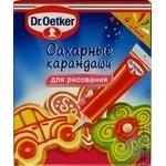 Цукрові олівці Dr.Oetker 76г