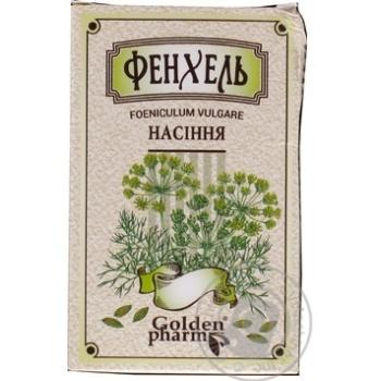 Семена Фенхель Golden Pharm 100г - купить, цены на Ашан - фото 1