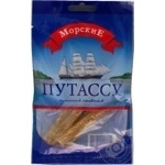 Snack blue whiting Morskie salted dried 20g