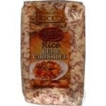 Рис World`s Rice parboiled красный 500г
