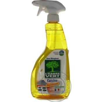Очиститель для кухни L'Arbre Vert спрей 740мл