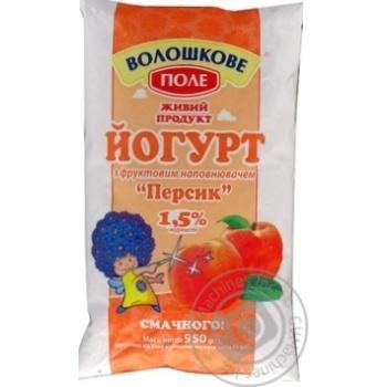 Voloshkove Pole Peach Yogurt 1.5%