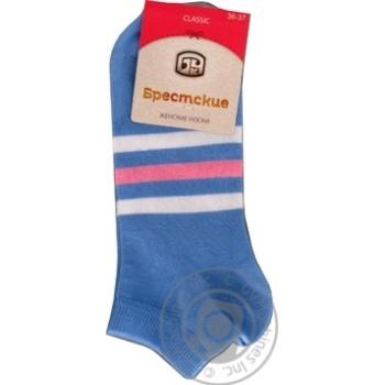 Brestskie Classic Blue Women's Socks 23s