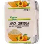 Сиркова маса Кожен День з курагою та ароматом ваніліну 8%