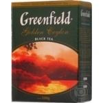 Чай Гринфилд Голден Цейлон черный крупнолистовой 100г