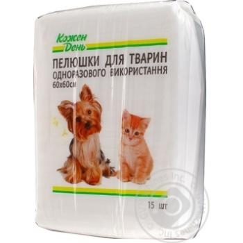 КД/Пелюшки для тварин 60х60 (15шт)