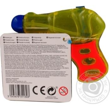 Пистолет One Two Fun водный 11см - купить, цены на Ашан - фото 3