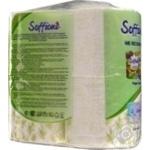 Toilet paper Soffione lemongrass 4pcs - buy, prices for Furshet - image 2