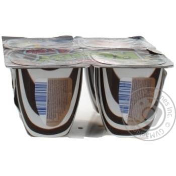 Десерт Ehrmann Роббі для тебе Шоколад та Лісові горіхи 5,8% 100г - купити, ціни на Ашан - фото 4