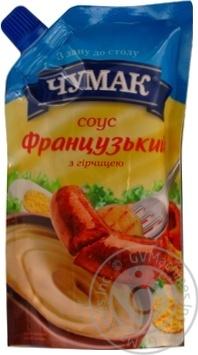 Скидка на Соус Чумак Французский с горчицей 200г Украина