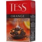 Tea Tess black 90g cardboard packaging