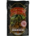olive Maestro de oliva green pitted 175g doypack