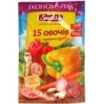 Приправа Smakko 15 овочів і прянощів універсальн 160г