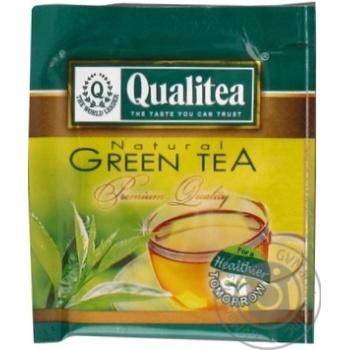 Чай зеленый Qualitea Green Tea с имбирем медом и лимоном 2г