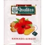 Чай травяной Qualitea каркаде и имбирь 2г