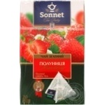 Sonnet Tea Poetry Green Tea with strawberry 20pcs 40g