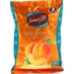 Shoud`e  DarLeta Candies ground apricots in dark chocolate with cream filling 200g