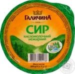 Сир кисломолочний нежирний Галичина 300г