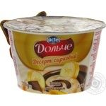 Dolce with banana and chocolate curd dessert 3.4% 200g
